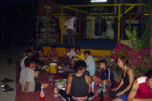 santai-muay-thai-fight-celebration