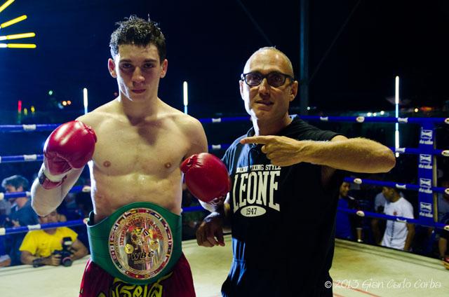 Mathias Gallo Cassarino and father