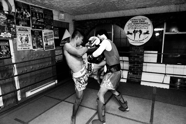 Boom Watthanaya training