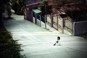 San Juan-La Union-Philippines-baby