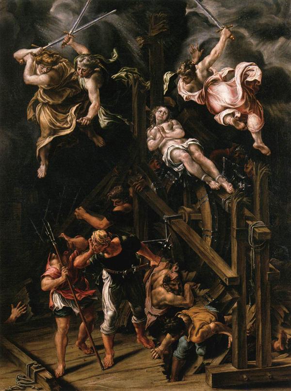Lelio Orsi Martyrdom of St Catherine of Alexandria
