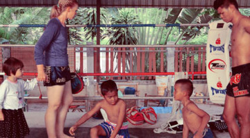 Age Over Gender At A Muay Thai Gym