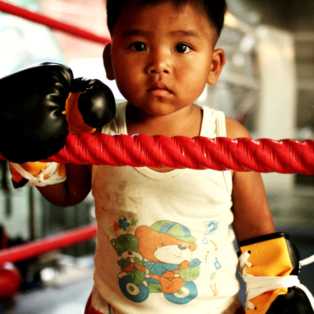 baby-muay-thai-fighter-in-ring