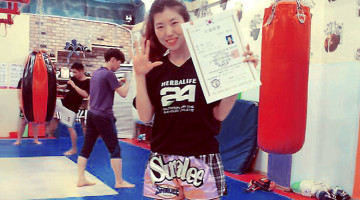 Muay Thai Grading in South Korea