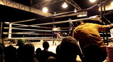 Sit Phanom + Wor Watthana's First Muay Thai Fight As A Gym
