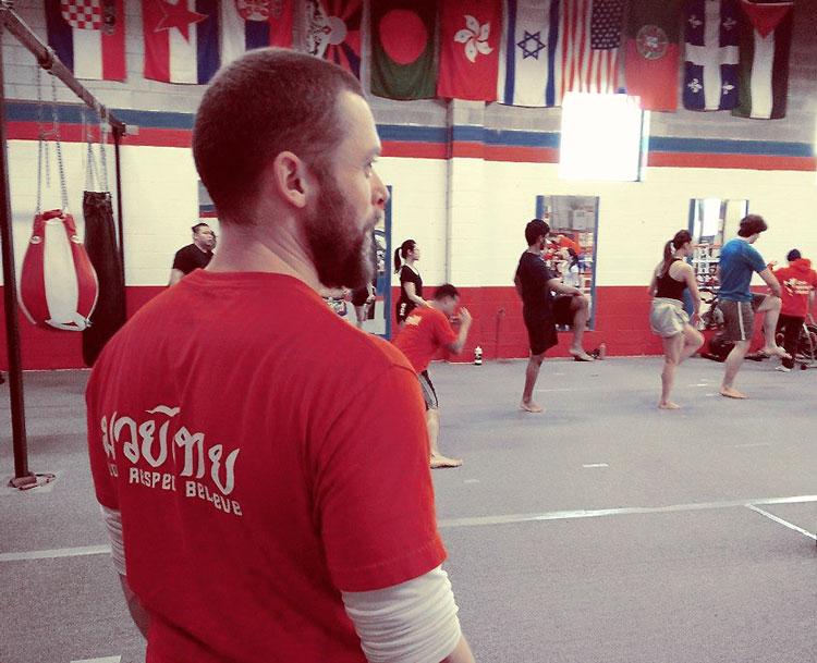 muay thai beginner