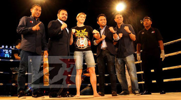 Interview With Z1 Female Muay Thai Champion Miriam Sabot